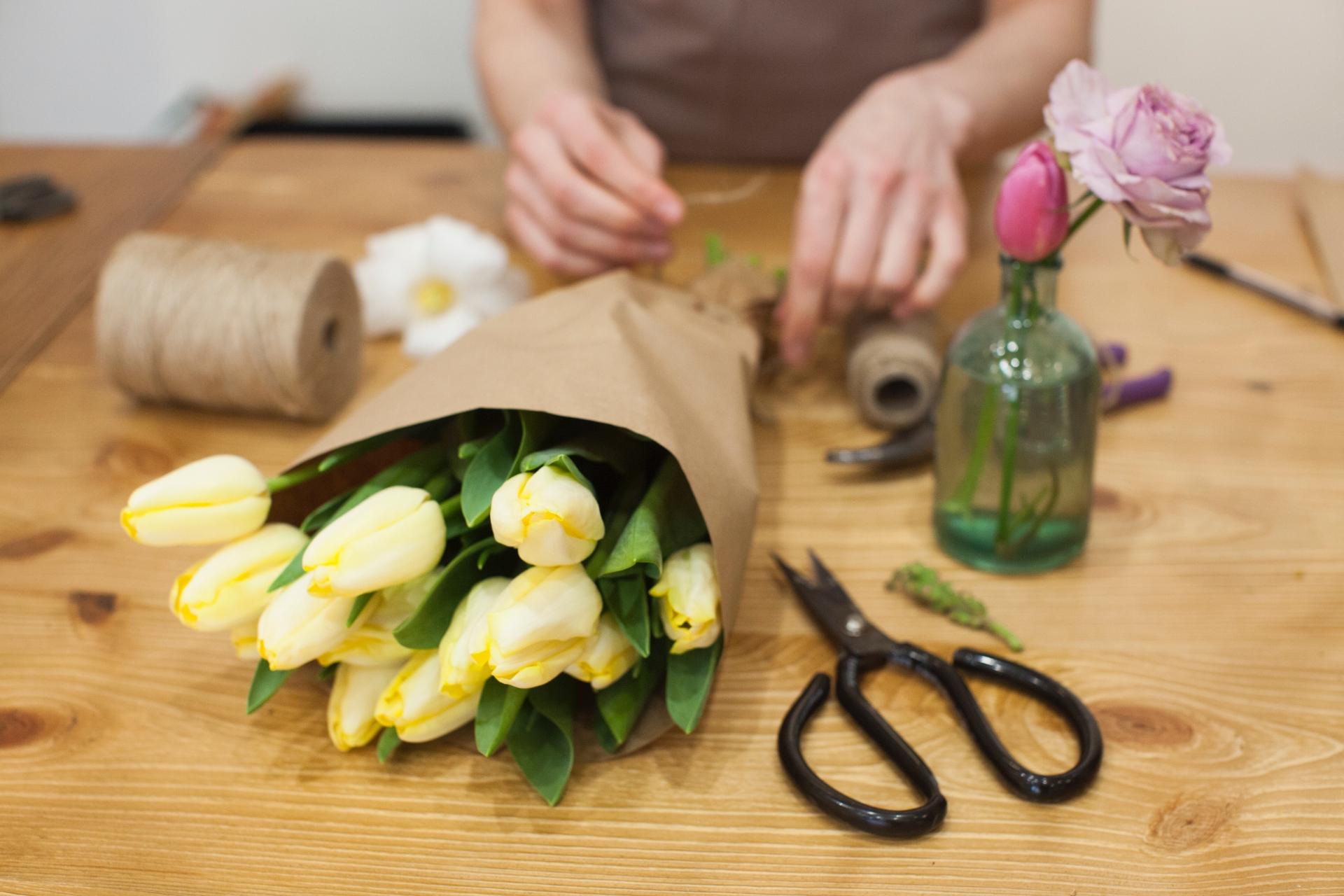お花を活ける時に必要な道具 ハサミ編