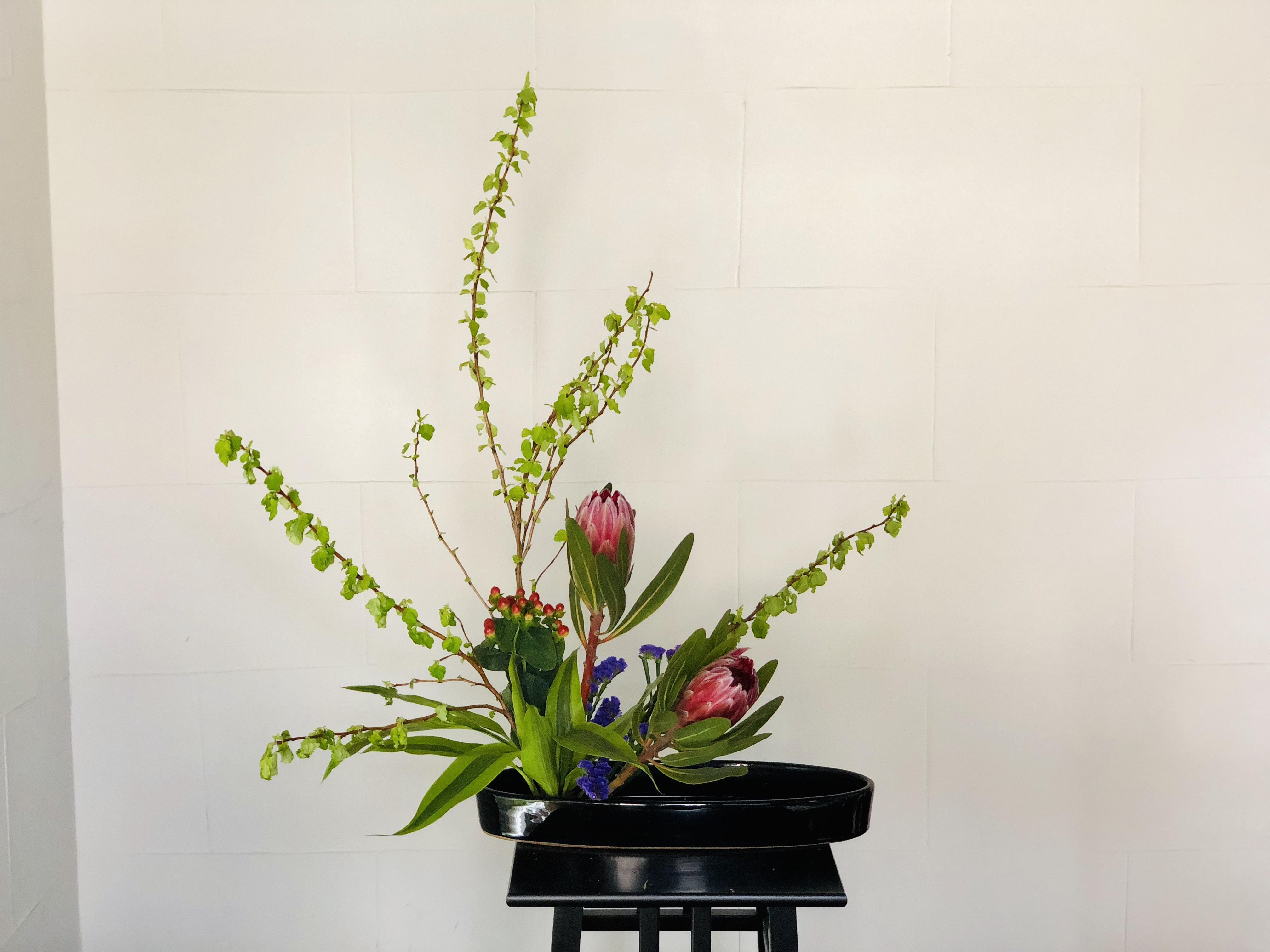 存在感のある花
