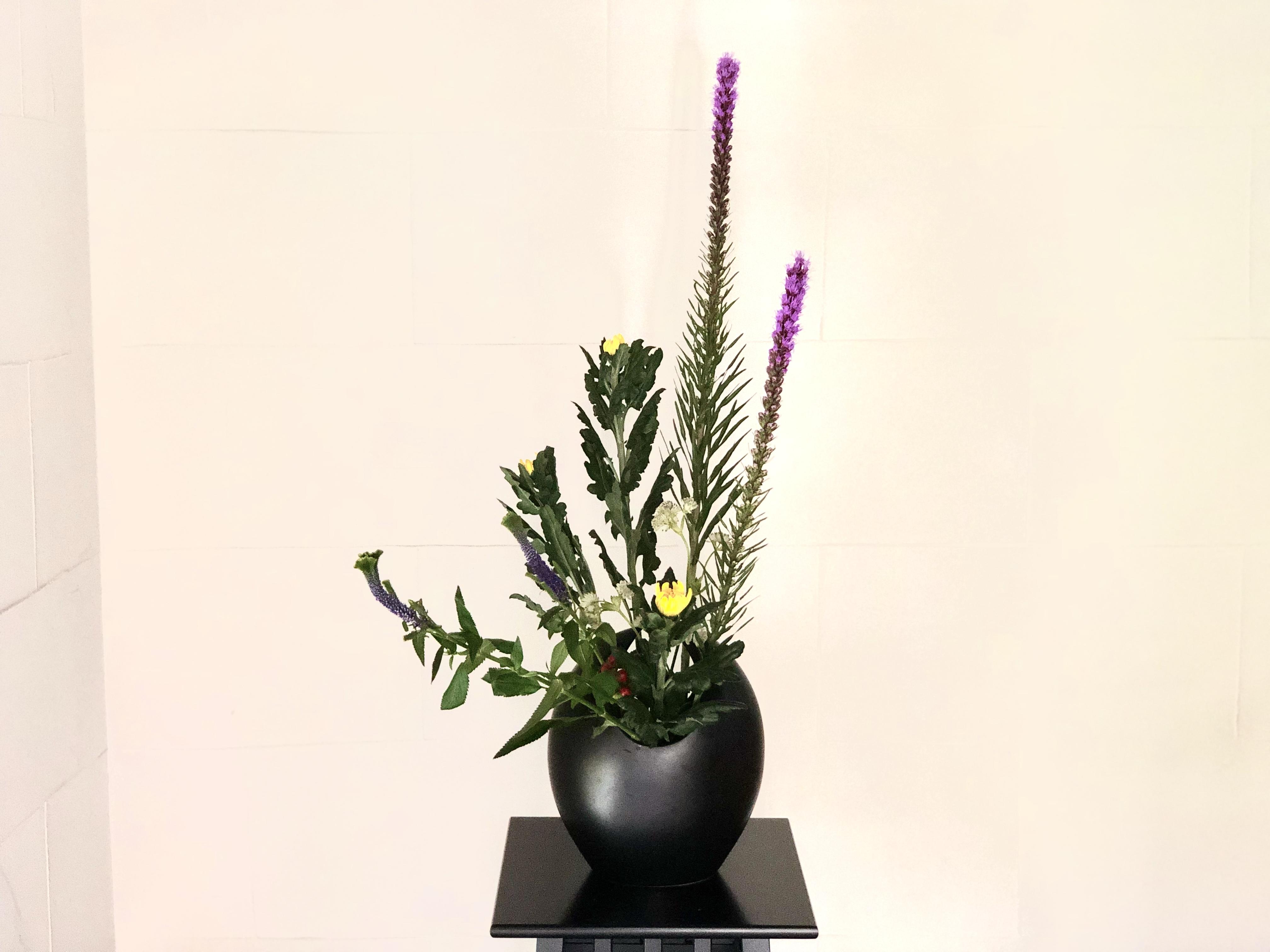和風な生け花