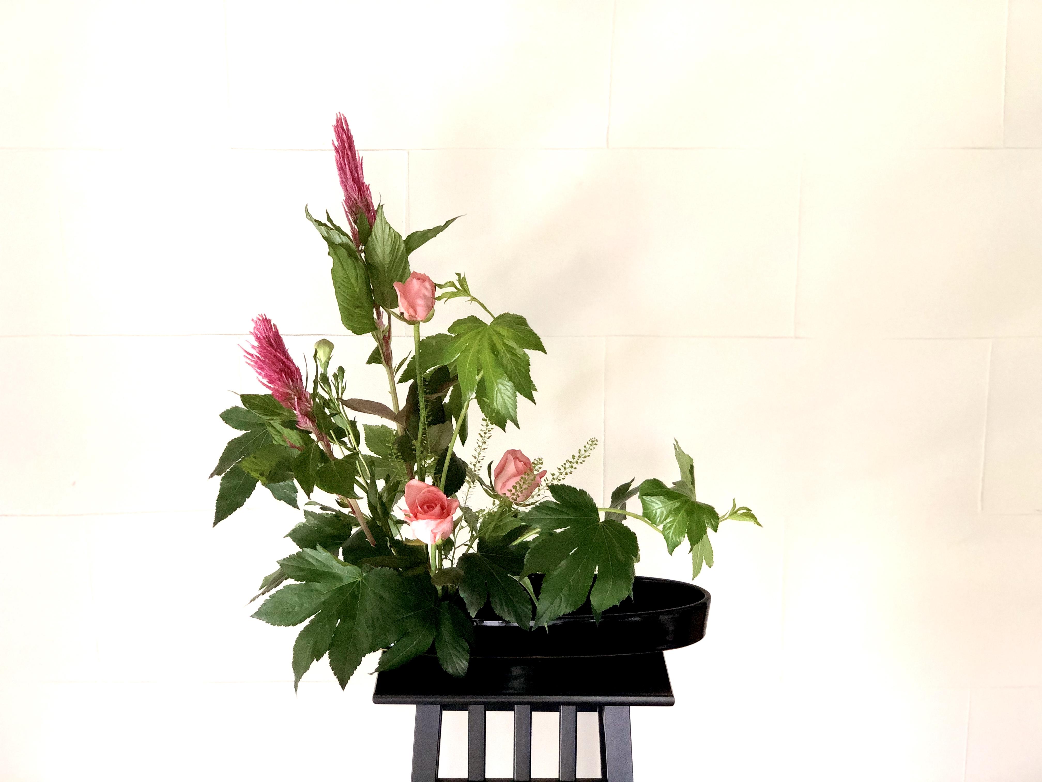 生け花の基本的な形