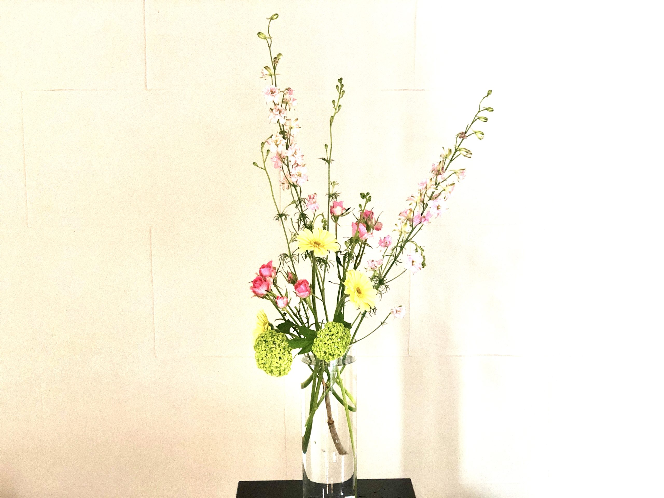 透明感のある生け花