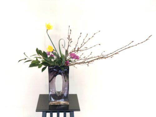 啓翁桜の生け花