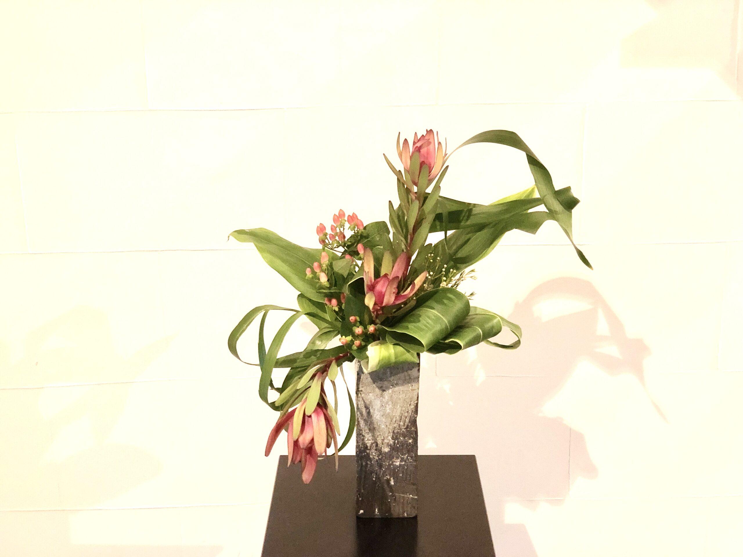 ネイティブフラワーの生け花